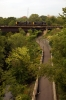 DL Alco RS3's 4068/4113 on Bridge 60 at Scranton