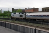 Amtrak GE P32AC-DM #715 at Utica, NY with 280 0340 Niagara Falls - New York Penn