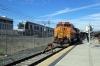 BNSF GE AC4400CW 5662 at LA Union (with MPI MP36PH-3C #901 on the opposite end) with 215 1528 LA Union - Lancaster