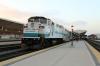 Metrolink EMD F59PH #864 at LA Union after arrival with 102 0521 Ventura East - LA Union