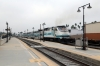 Metrolink EMD F59PHI #878 departs Glendale with 108 0828 Chatsworth - LA Union