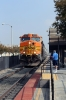 BNSF GE AC4400CW 5649 (with MPI MP36PH-3C #894 on the opposite end) arrives into Baldwin Park with 321 1000 San Bernadino - LA Union