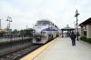 Amtrak F59PHI #454 runs through Orange with 565 0657 San Diego - LA Union