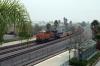 BNSF Gevo GE ES44C4 8234 banks a freight away from Norwalk/Santa Fe Springs