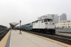 Metrolink EMD F59PH #873 (with BNSF GE AC4400CW 5607 on the rear) departs LA Union with 207 0945 LA Union - Via Princessa