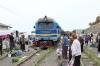 UZ TU2-034 runs round at Vynohradiv-Zakarpatskyi to work 6604 0820 Vynohradiv-Zakarpatskyi - Khmilnyk
