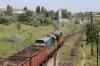 UZ ChME3-3442/ChME3-3772 depart Izmail with a trip freight