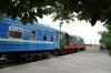 UZ ChME3-2767 waits to depart Berezyne with 688Sh 1704 Berezyne - Artysz