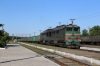 UZ 2TE116-1175a/2TE116-772b arrive into Rozivka with a heavy freight
