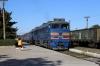 UZ 2TE116-1063a/b arrive into Rozivka with 104D 1450 Mariupol - Kyiv Pas.