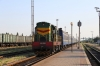 UZ ChME3-5048 brings the stock into Cherkasy to form 095Sh 1927 Cherkasy - Lviv