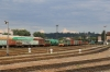 UZ ChME3T-6352 runs into Chernivtsi Yard with a short freight