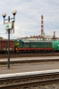 UZ ChME3T-6447 in Chernivtsi Yard with a short freight