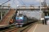 UZ ChS4-040 approaches Kyiv Volynskyi with 142 2320 (P) Bakhmut - Lviv