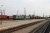 UZ 2TE10M-2602b/2TE10M-2417b run through Mykolaiv Pas with a freight