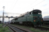2TE116-791b/a wait departure from Hrebinka with 062Sh 1110 Mykolaiv Pas - Moskva Kievskaya, having replaced 2TE10UT-0068a/b