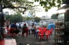 Vietnam - Cafe outside Saigon Railway Station