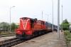 DSVN D13E-708 waits to depart Phan Thiet with SPT1 1305 Phan Thiet - Saigon