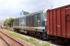 DSVN D20E-007 at Quang Ngai with a southbound freight