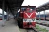 DSVN D12E-634 waits to depart Hanoi with LP5 1520 Hanoi - Hai Phong