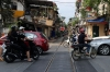 Vietnam, Hanoi - the railway lines north of Hanoi to Gia Lam are closed Monday to Friday during the day due to the amount of crossings that have an impact on the city's traffic