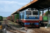Chinese built D19E-912 at Muong Man with a southbound freight