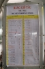 Timetables at Saigon - June 2011