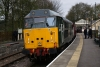 31601 waits to depart Stanhope with 5H02 1015 Stanhope - Bishop Auckland West