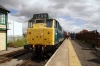 31162 waits to depart Leeming Bar with the 1140 Leeming Bar - Redmire