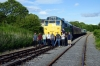 31162 at Redmire after arrival with the 1720 Leeming Bar - Redmire