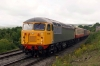 56098 at Redmire with the 1020 Redmire - Leeming Bar