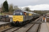 31206 shunts the DMU at Wirksworth, that it would drag on the 1105 Wirksworth - Duffield