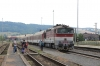 ZSSK 754070 arrives into Krivan with R810 0523 Kosice OS - Bratislava HS