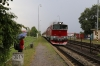 ZSSK 754054 passes through Kostany nad Turcom with R953 1454 Zilina - Zvolen OS