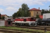 ZSSK 757019 on shed at Prievidza